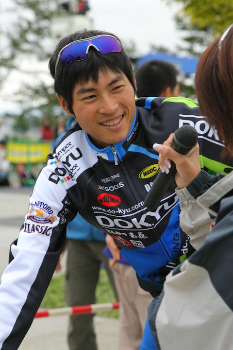 07年ツール・ド・北海道での阿部嵩之。北海道選抜で出場した
