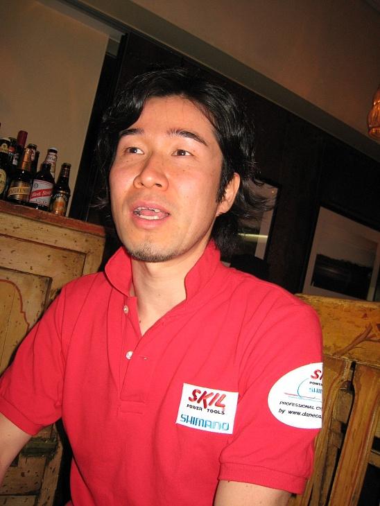 栗村修(シマノレーシング・スポーツディレクター)