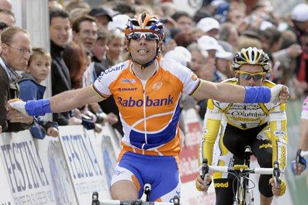 3度の世界チャンピオン、オスカル・フレイレ(スペイン、ラボバンク)
