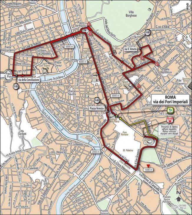 第21ステージ・コースマップ