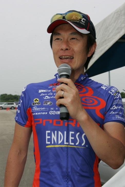 MTB元アジアチャンピオン・山口孝徳選手のライディング講習会
