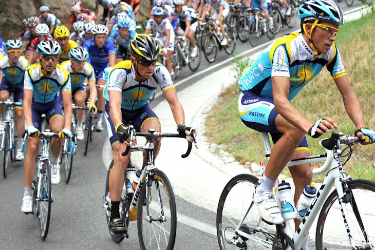 トレック・マドンを駆り、ツール・ド・フランスを闘うアスタナチーム