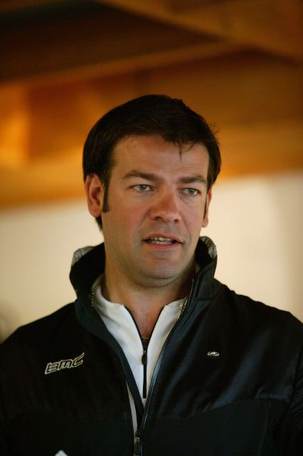 BMCレーシングチームの監督ジョン・ルランゲ氏