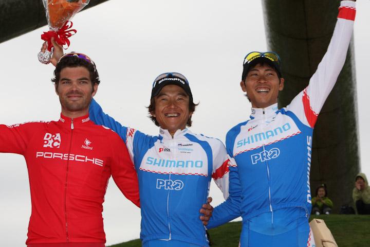 阿部は鈴木のステージ優勝とチーム総合優勝に貢献