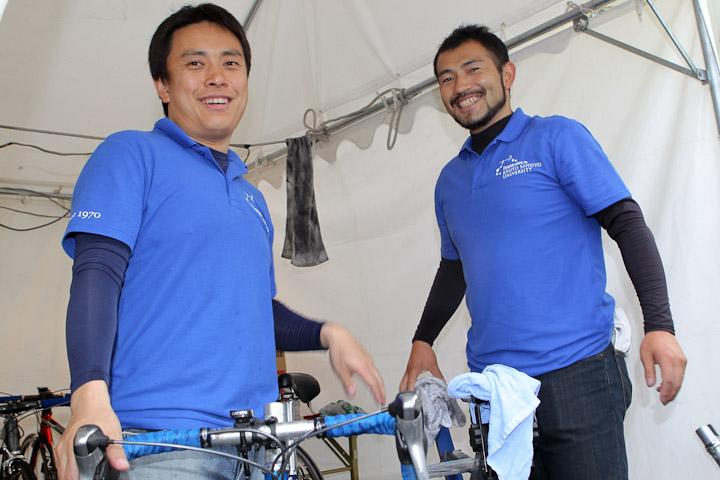 大学選抜ジャパンのメカニックは京都産業大学出身の現役競輪選手。山岸 .....    BIGLO