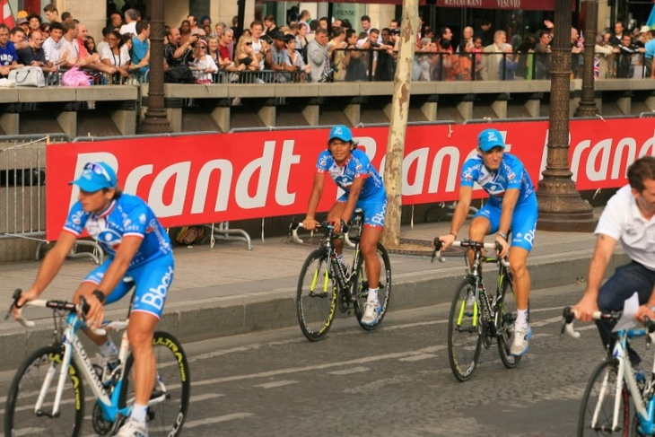 二度目のツール・ド・フランス完走を果たした新城幸也(日本、Bboxブイグテレコム)