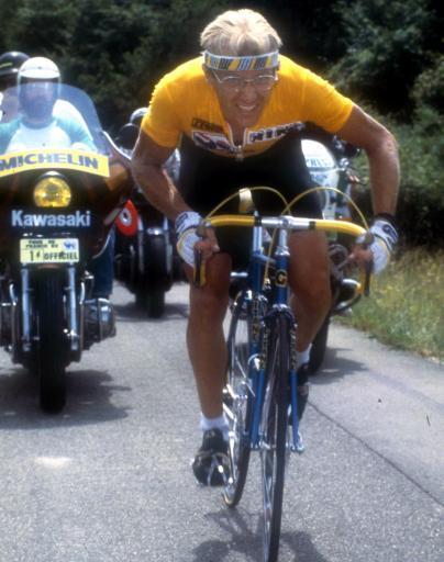 1983・84年ツール・ド・フランスを制覇したローラン・フィニョン(フランス)