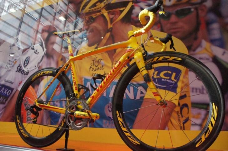 ツール・ド・フランス最終日にコンタドールが乗ったマシン