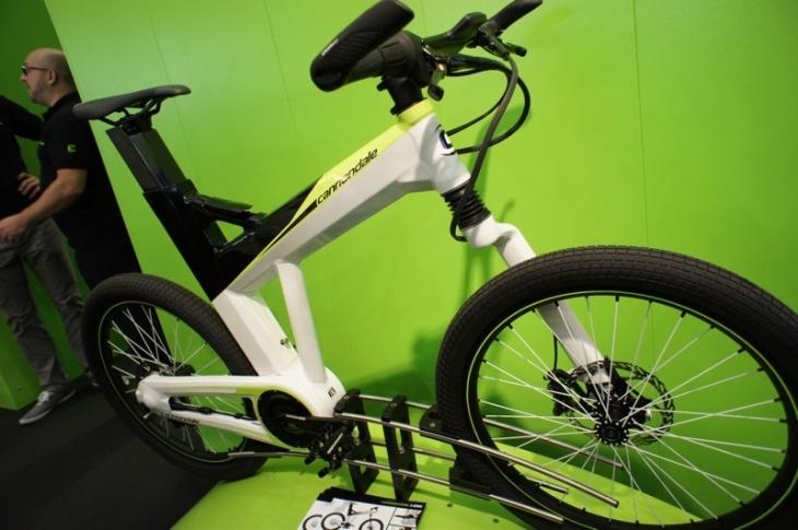 キャノンデールの電動バイク Eシリーズ