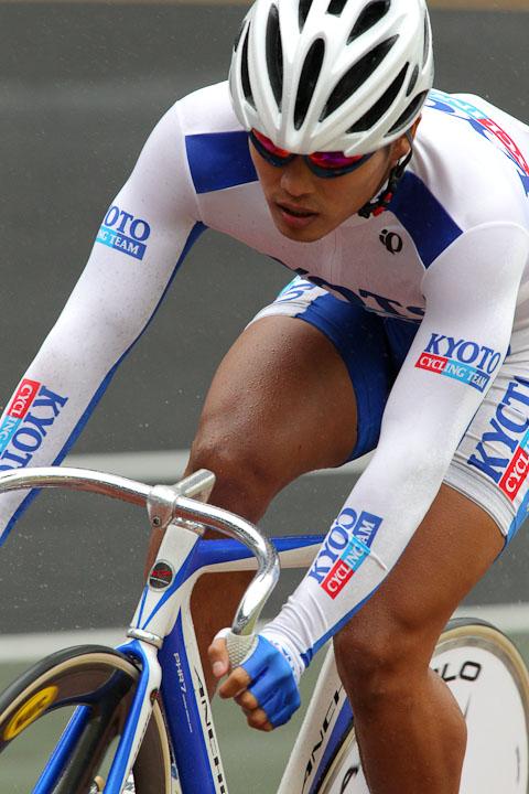 成年スプリント予選 2位タイムの小西悠貴(京都)11秒466