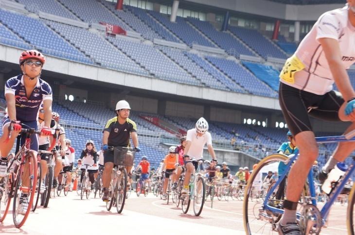 様々な自転車で楽しめることもこのイベントの魅力