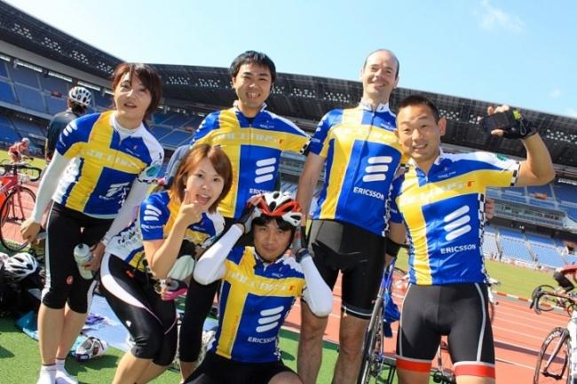 チームエリクソンは会社の自転車好きが集まって結成