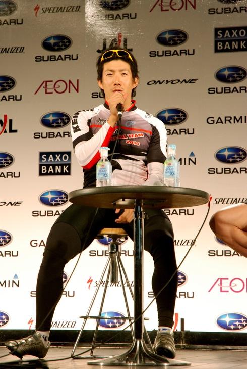 競輪選手の渡邉一成 photo:Yufta Omata Tweet 競輪選手の渡邉一成
