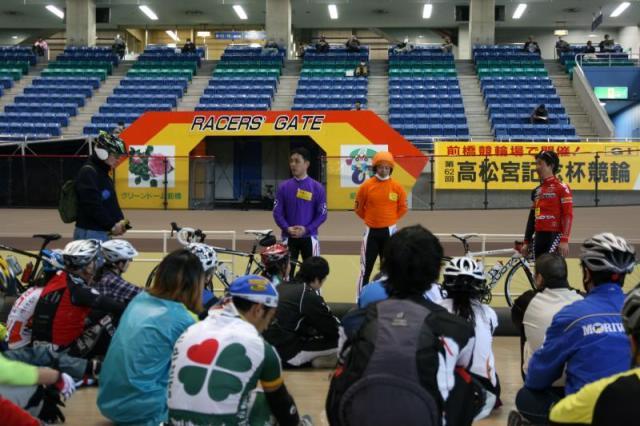 午後からの大人の部では、本格的な質問が飛んだ。競輪とロード、それぞれの経験から貴重なアドバイスが聞ける