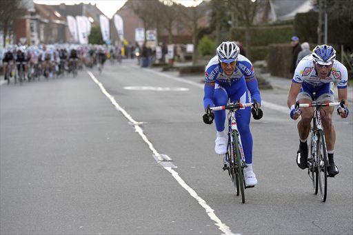 ラスト6kmでアタックしたトム・ボーネン(ベルギー、クイックステップ ...