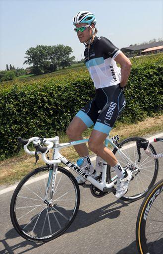 ステージを走るワウテル・ウェイラント(ベルギー、レオパードトレック)