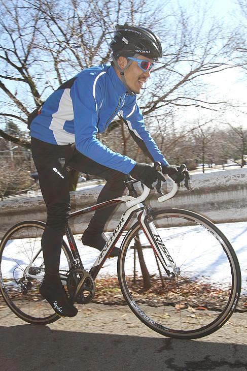 「軽快に上りをこなせるピュアレーサー」吉田秀夫