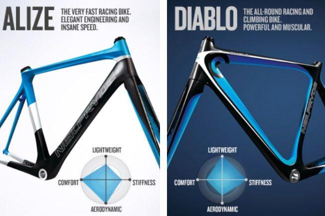 アリーゼとディアブロ どちらもそれぞれがニールプライドの誇るフラッグシップモデルだ