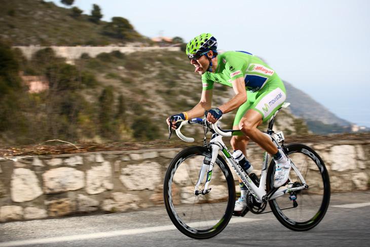 ステージ6位・52秒遅れ アレハンドロ・バルベルデ(スペイン、モビスター)