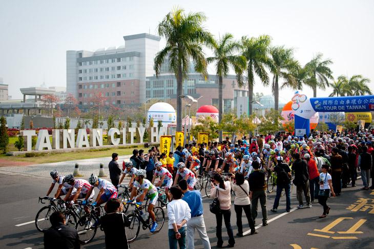 台南市で開催された第6ステージ