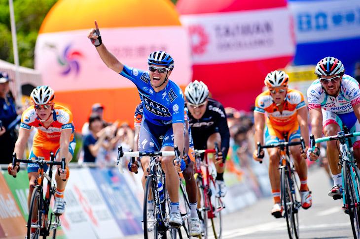 ジョナサン・キャントウェル(オーストラリア、サクソバンク)がステージ2勝目を挙げた