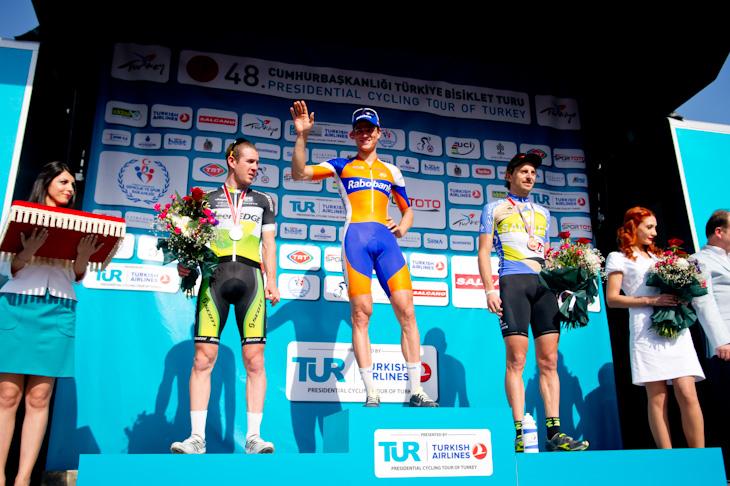 ツアー・オブ・ターキー第1ステージ、ステージ上位の表彰式