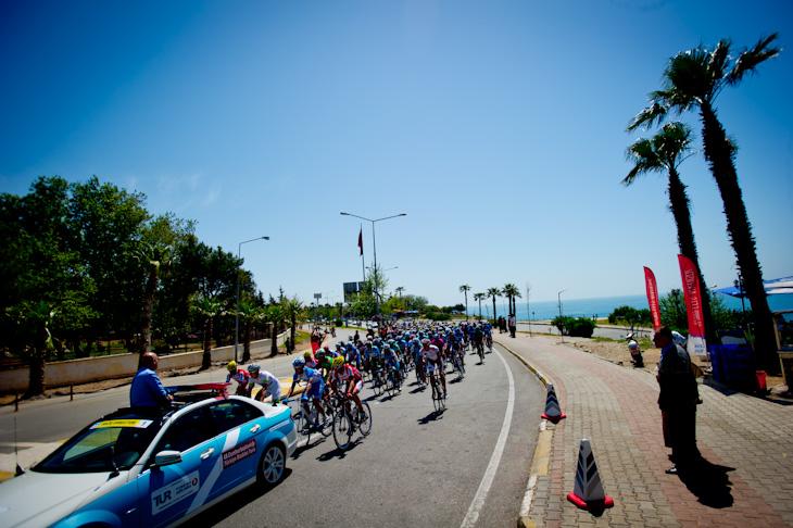 海沿いのアンタルヤから第3ステージがスタート