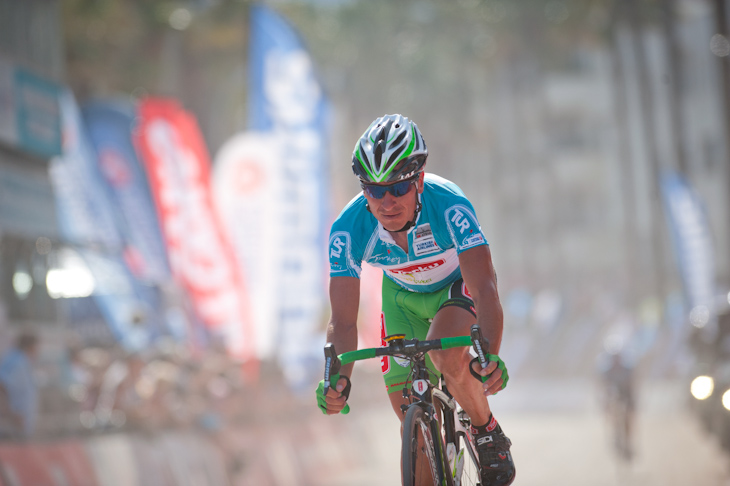 タイム差なしの先頭集団でフィニッシュしたイヴァイロ・ガブロフスキー(ブルガリア、コンヤ・トルク)