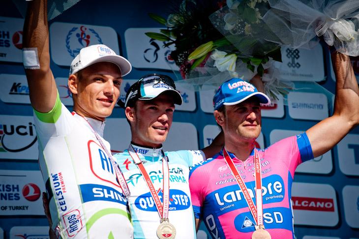 ステージ優勝を挙げたイーリョ・ケイセ(ベルギー、オメガファーマ・クイックステップ)