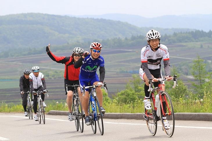 サイクリングイベントなどでの記録の共有にも最適だ