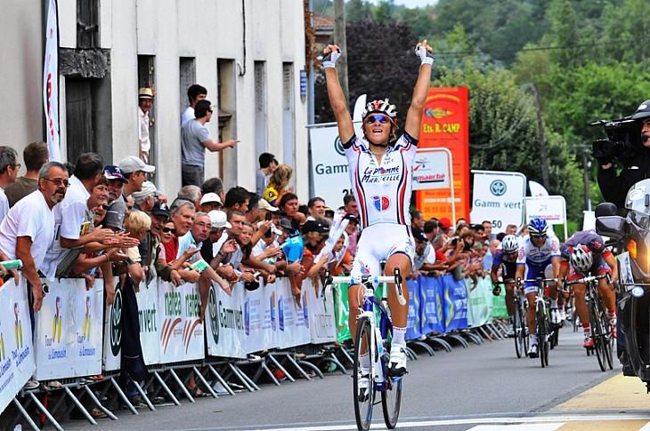 第2ステージを制したエヴァルダス・シスケヴィシウス(リトアニア、ラポム・マルセイユ)