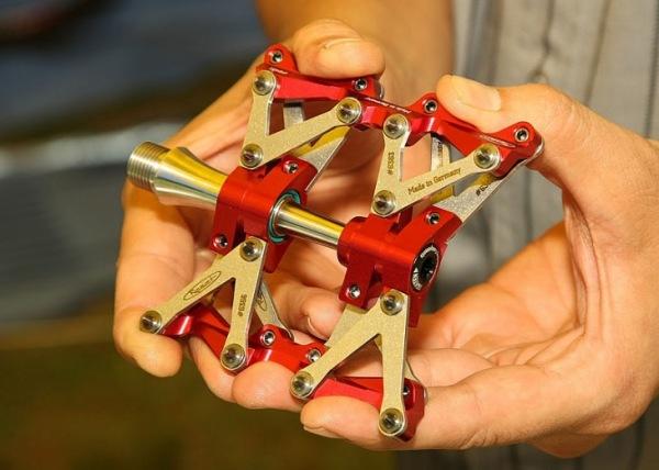 Reset Racing ペダル3 CNC7075アルミ製ペダル+ステンシャフト