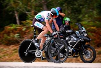ステージ3位・39秒差 クリス・フルーム(イギリス、チームスカイ): photo:Kei Tsuji