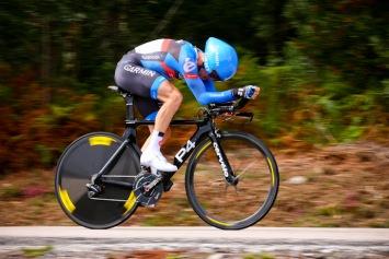 ステージ9位・1分24秒差 アンドリュー・タランスキー(アメリカ、ガーミン・シャープ): photo:Kei Tsuji
