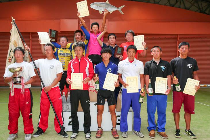 男子総合表彰、日本大が30連覇達成