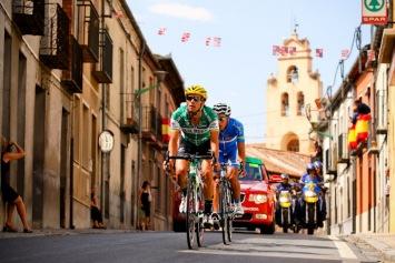 最大10分のリードで逃げるアイトール・ガルドス(スペイン、カハルーラル)とホセビセンテ・トリビオ(スペイン、アンダルシア): photo:Kei Tsuji