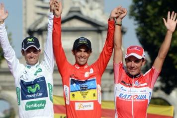 スペイン人選手によって占められた総合表彰台: photo:Unipublic