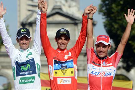 スペイン人選手によって占められた総合表彰台