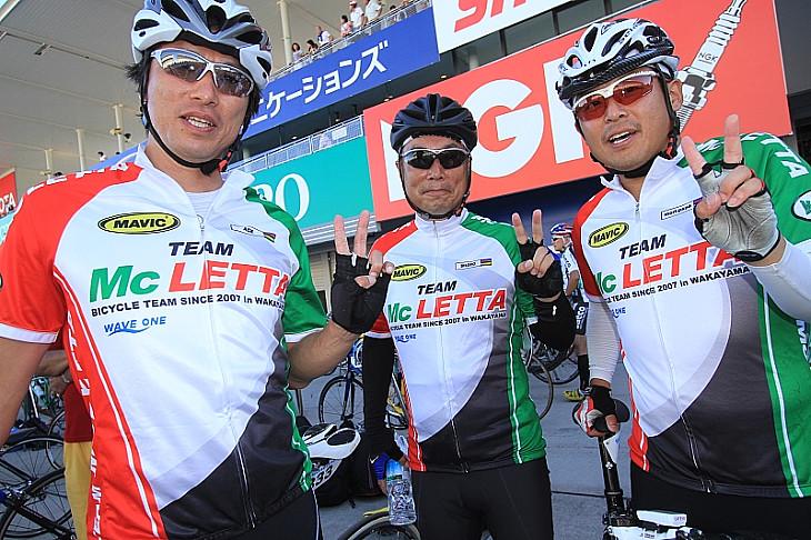和歌山のチーム Mc LETTA マクレッタ の皆さん