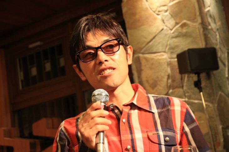 ファンに向けてメッセージを語る宮澤崇史選手