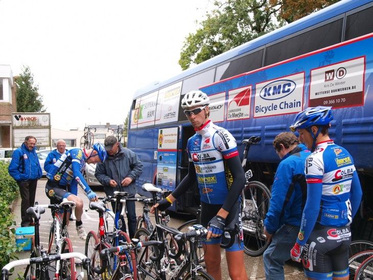 ベルギーのコンチネンタルチーム コルバ・スペラーノハム
