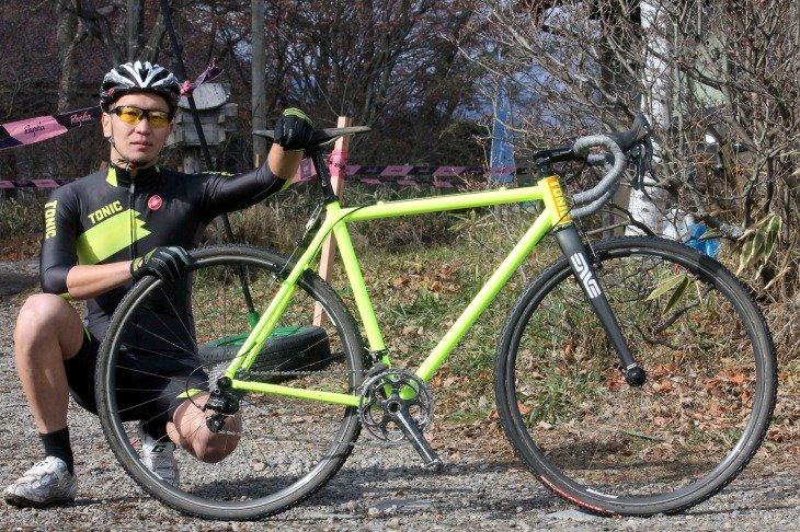 Tonic fabrication Magnum CX Japan Team Edition 森本禎介さん(Tonic CX Team Japan)