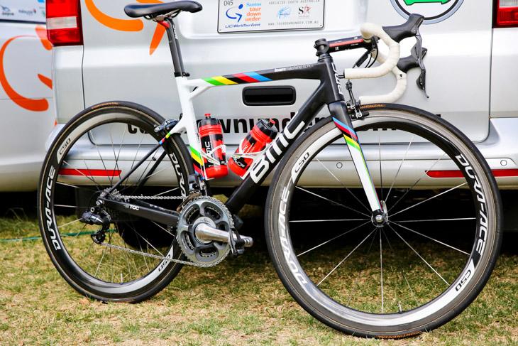 フィリップ・ジルベール(ベルギー、BMCレーシングチーム)のBMC teammachineSLR01: photo:Kei Tsuji