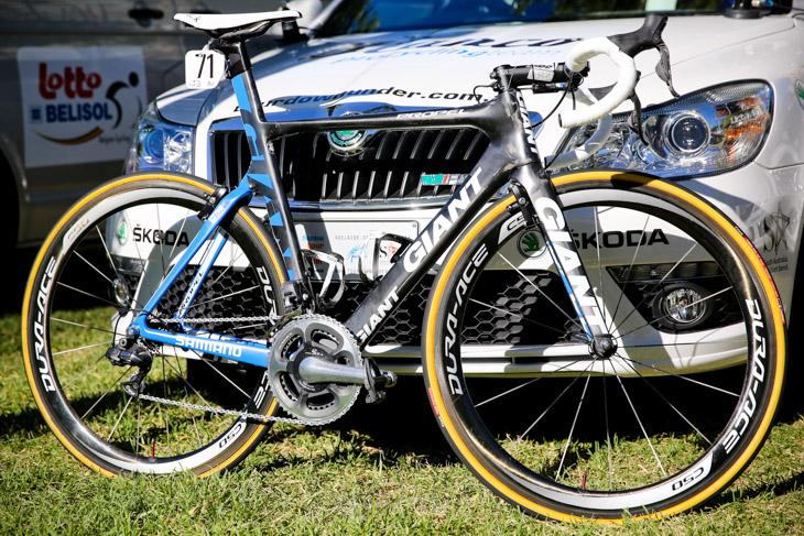 ジャック・ボブリッジ(オーストラリア、ブランコプロサイクリング)のジャイアント PROPEL Advanced SL: photo:Kei Tsuji