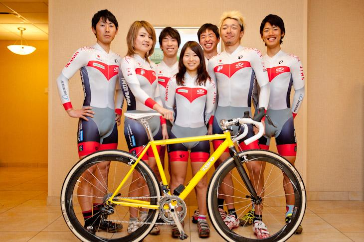 日本ナショナルチームとしてシクロクロス世界選手権に出場する7選手