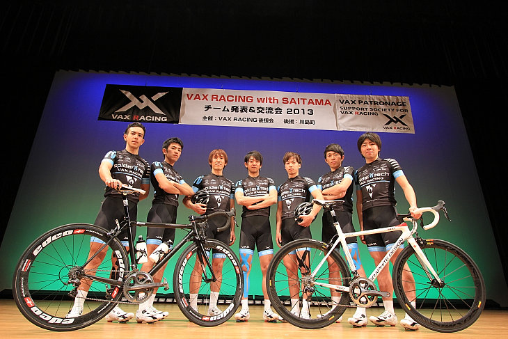 VAX RACING with SAITAMA チームメンバー: (c)Makoto.AYANO