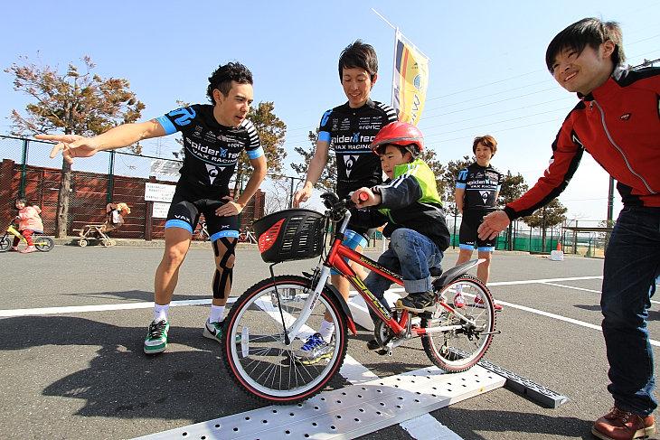 子供の自転車教室「ウィーラースクール」も展開していく
