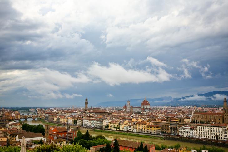 美しいフィレンツェの街並