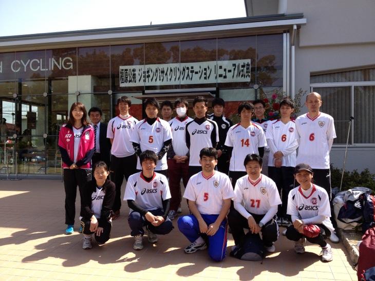奈良県立橿原公苑ジョギング&サイクリングステーションのオープニング ...