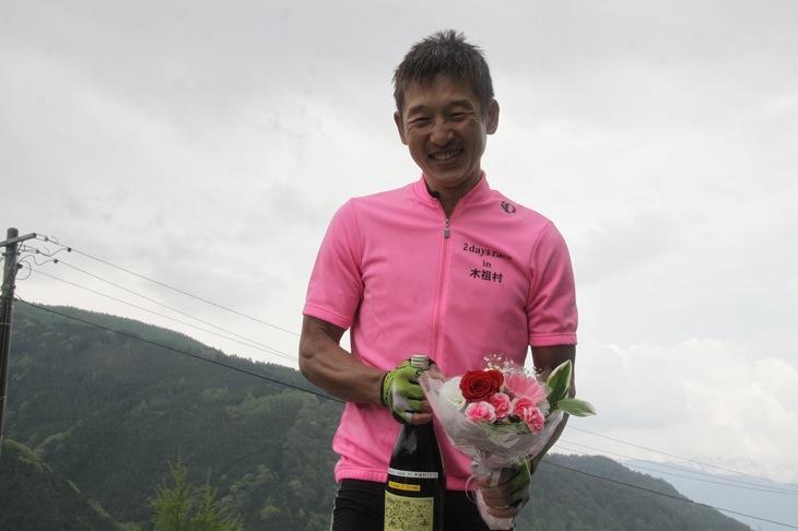 オーバー40賞に輝いた西谷雅史(オーベスト・バースモン)